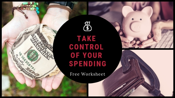 #SpendingHabits free-worksheet