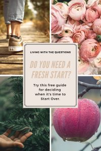 Free Guide for deciding when it's time to start over.
