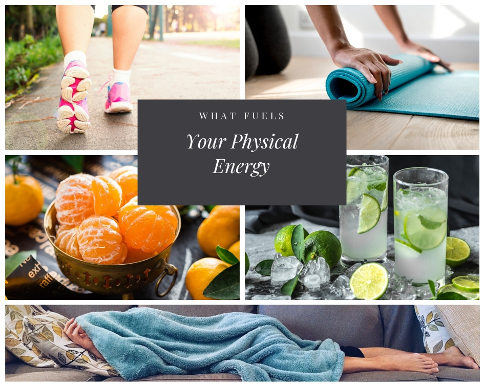 Physical Energy collage